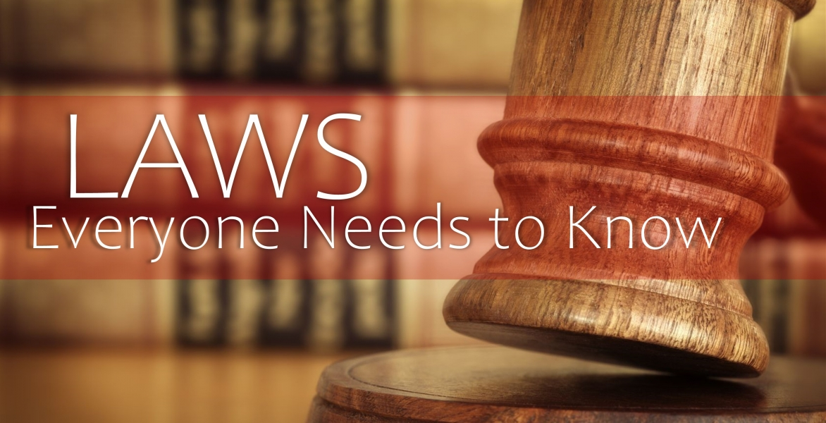 CE: Laws Everyone Needs to Know